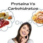 Diferencia entre proteínas y carbohidratos